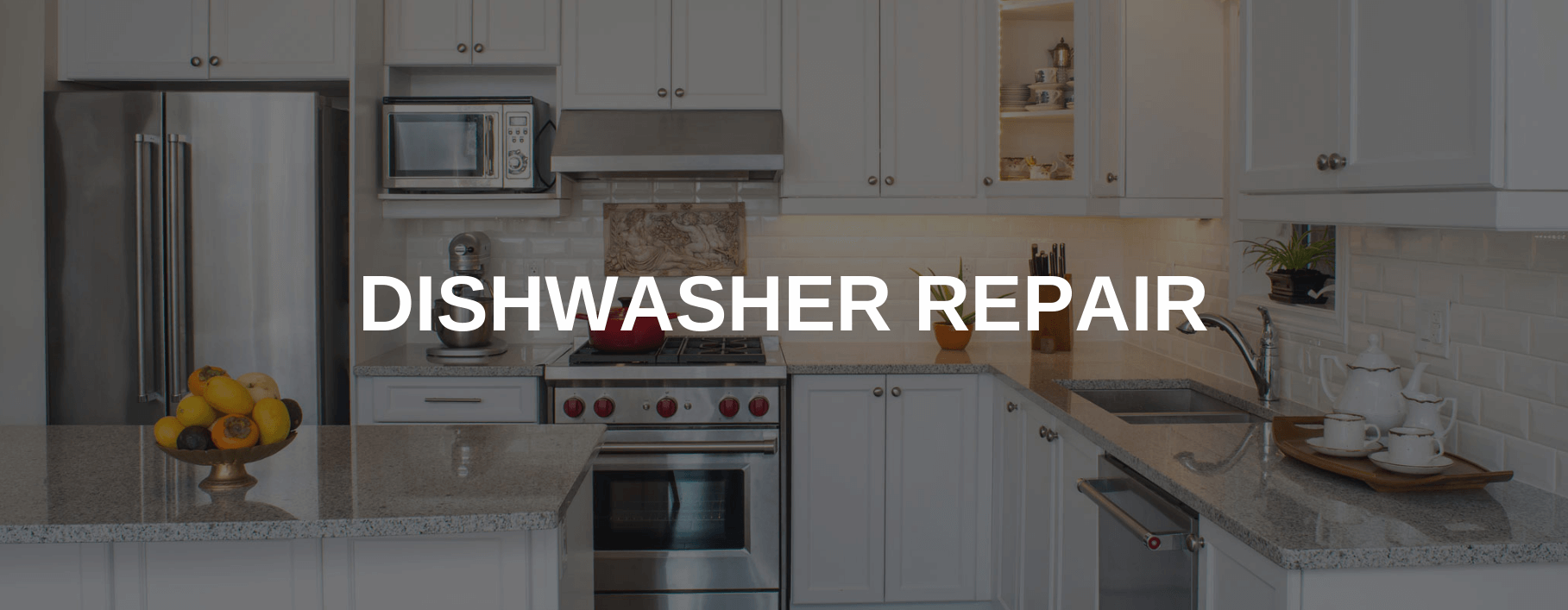 dishwasher repair city